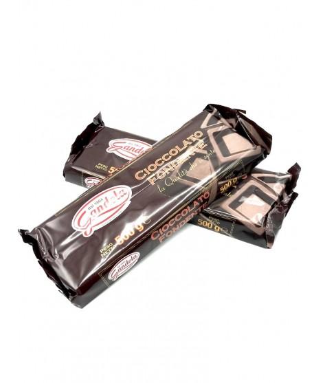 Blocco di Cioccolato fondente