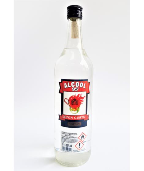 Alcool Buongusto 95c° lt1