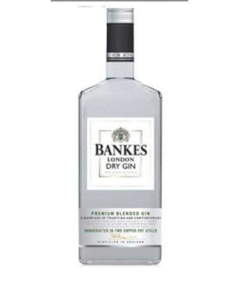 Gin Dry Bankes 1lt