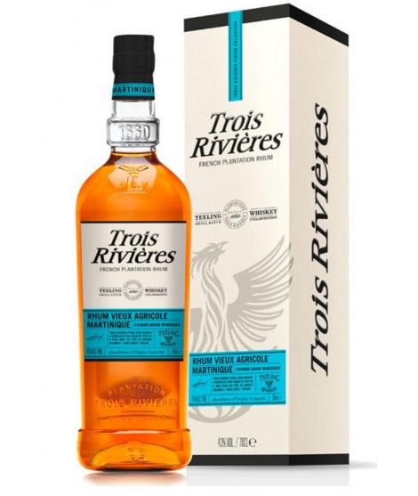 Rum Trois Riv Finish Teel 70cl