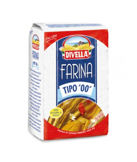 Farina 00 Divella kg1