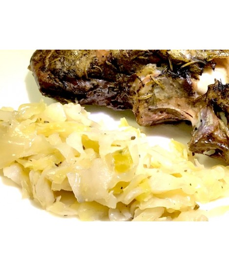 Crauto all'Ungherese confit
