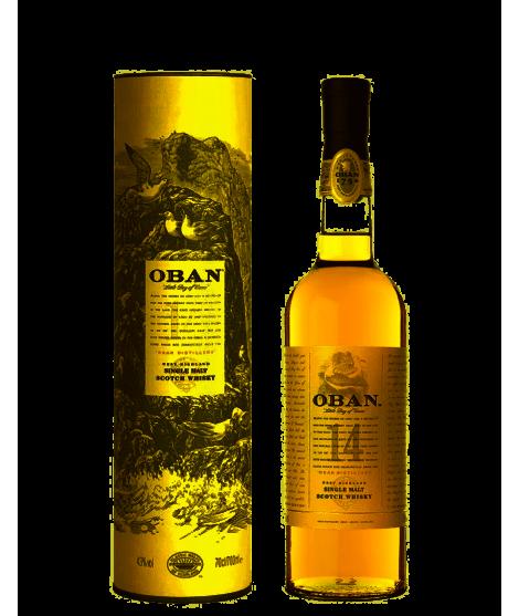 OBAN Whisky Single Malt 14...