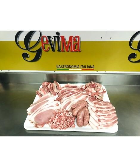 Pacco carne Suino Nazionale