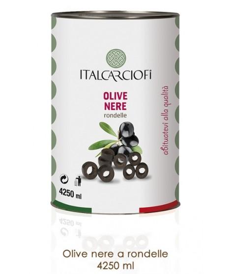 Olive nere a rondelle Kg 2