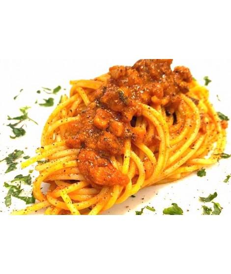 Spaghettone al ragù di Polpo